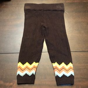 Missoni leggings/ knit tights new without tags.